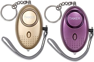 Taiker Personal Alarm for Women 140DB Emergency Self-Defense Security Alarm Keychain with LED Light for Women Kids and Eld...