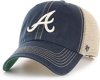 3fdc9ab6e54d80 '47 Tampa Atlanta Braves Trawler Clean Up Adjustable Trucker Hat Cap, Snapback  Navy · '