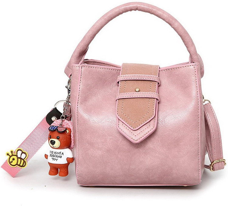 AllhqFashion Women's Studded Pu Crossbody Bags Fashion Shoulder Bags,FBUBD180756