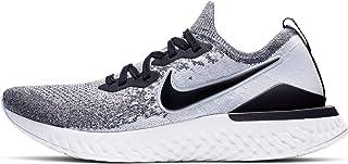 Epic React Flyknit 2 Men's Running Shoe White/Black-Pure Platinum 10.0