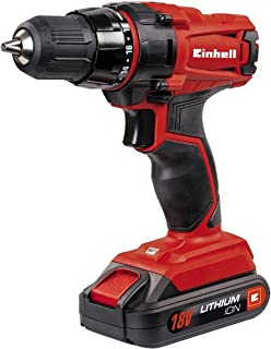 comprar comparacion Einhell 4513846 Taladro sin Cable TC-CD 18-2 litio 18 V, 18 W, Rojo