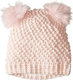 Double Pom Knit Hat