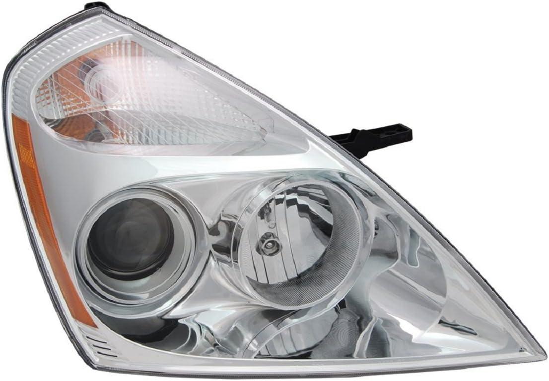 TYC 20-11838-00-1 Kia Sedona Left Replacement Head Lamp
