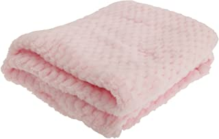 comprar comparacion Manta de tela de rejilla muy suave para bebés niños/niñas. rosa rosa Talla:75 x 90cm