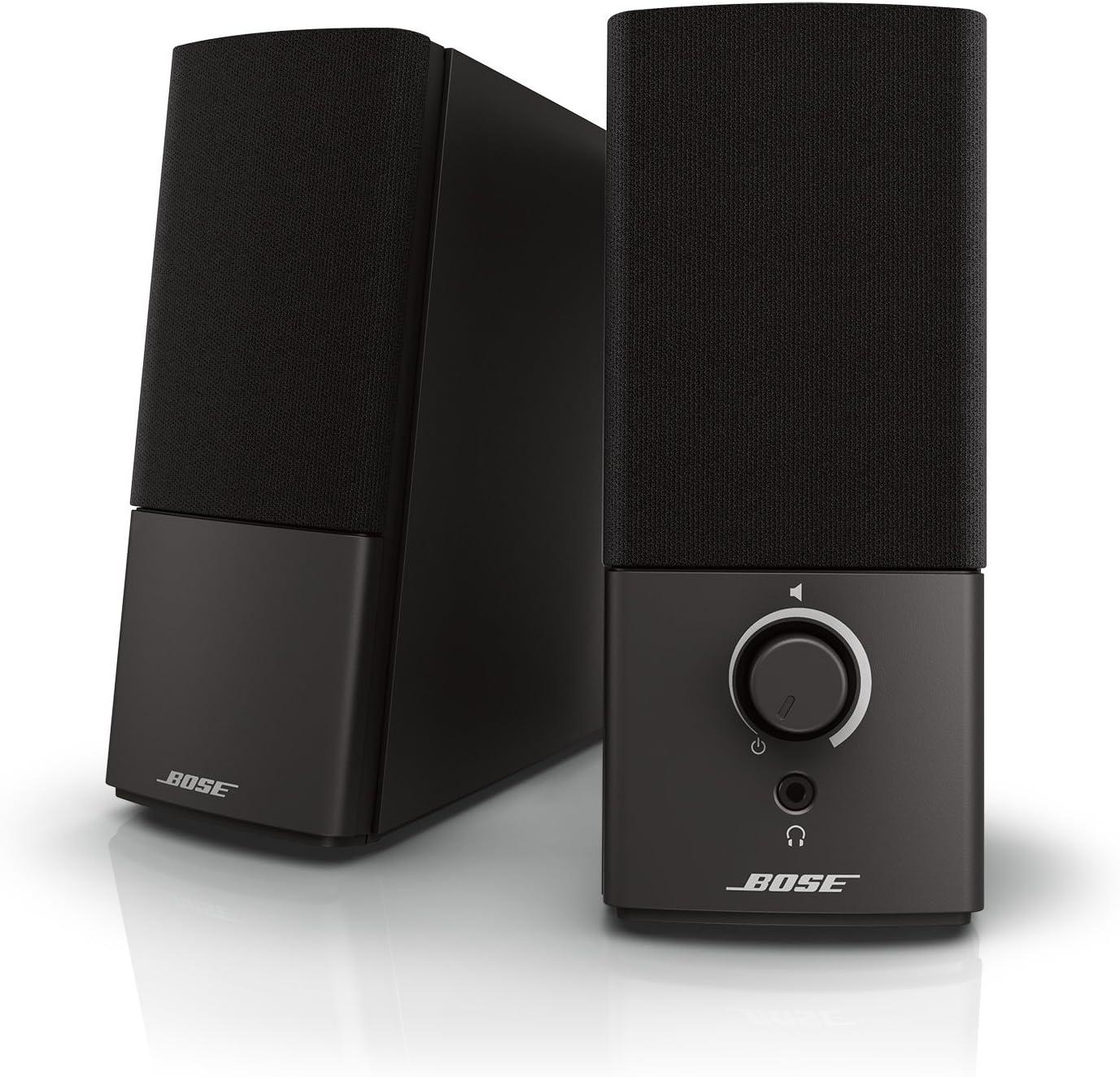 1. Bose Companion 2 Series III Multimedia Speakers