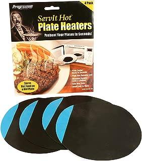Progressus ServIt Hot Plate Heaters, 4 Count