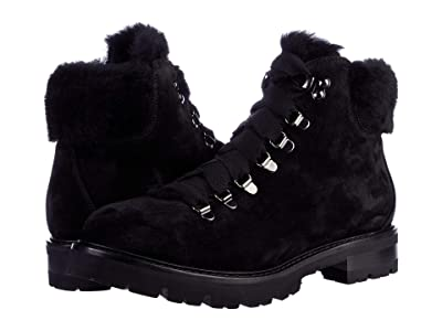 AGL Shearling Mountain Boot (Black) Women