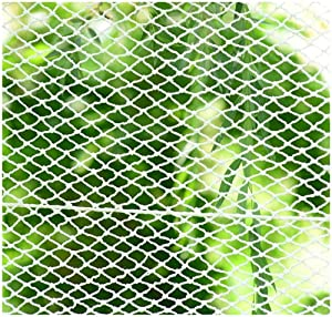 Garden rope net safety net cargo network Building Safety Net Ladder Protection Tennis Court Isolation Protection Net Nylon Fence Net Anti-fall Net Decoration Net Children s stairs protection outdoor