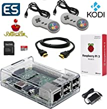 Raspberry Pi 3 Model B Gaming & Media System Pre-Loaded with RetroPie and Kodi