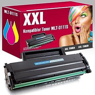 Toner MLT-D111S COMPATIBLES para Samsung Xpress M2000M2020M2020W M2021m2021W M2022M2022W M2026m2026W M2070M2070F M2070W M2070W m2071fh m2071fw m2071hw m2071W M2078m2078F m2078fw m2078W MS de Point® 1x Toner