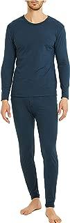 Byruze Thermal Underwear for Men Warming Cation Long Johns Men's Ultra Soft Base Layer Long Sleeve Top & Bottom Winter Set