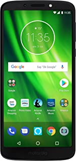 Moto G6 Play with Alexa Push-to-Talk – 32 GB – Unlocked (AT&T/Sprint/T-Mobile/Verizon) – Deep Indigo – Prime Exclusive Phone