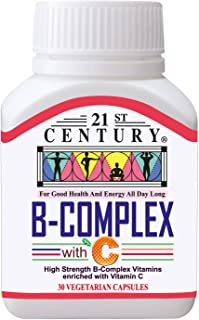 21st Century B-Complex and C, 500mg, 30 ct