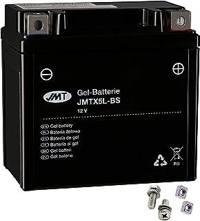 JMT YTX5L-BS - Batería de gel para Speedfight 2 100 WRC 206 año de construcción 2004