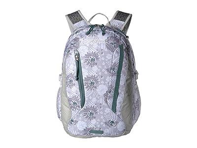 JanSport Womens Agave (Sleet Silver Vines) Backpack Bags