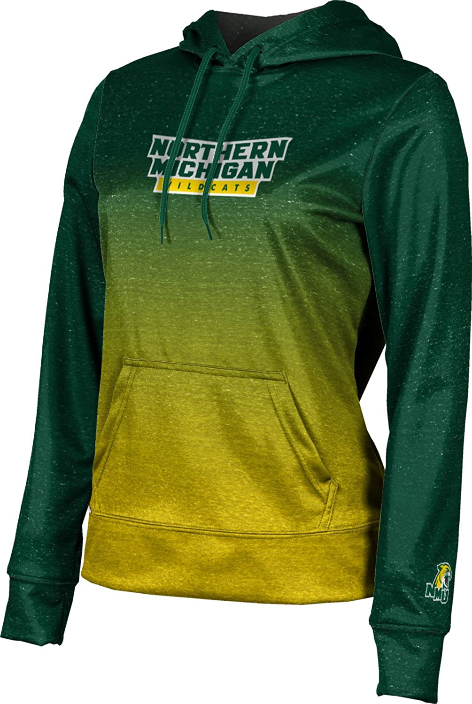 ProSphere Northern Michigan University Girls' Pullover Hoodie, School Spirit Sweatshirt (Gradient)