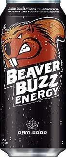 Beaver Buzz (BLACK CAN) ORIGINAL Energy Drink - 16oz x 12pk