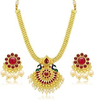 Sukkhi Jewellery Sets for Women (Golden) (3186NGLDPP950)