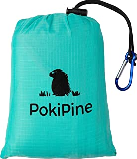 PokiPine Travel Outdoor Blanket Lightweight 55
