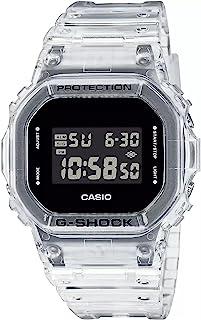 Casio Mens Digital Quartz Montre avec Bracelet en Plastique DW-5600SKE-7ER