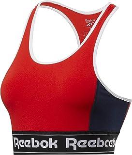 Reebok Women's Te Linear Logo Bralette Sports Bra