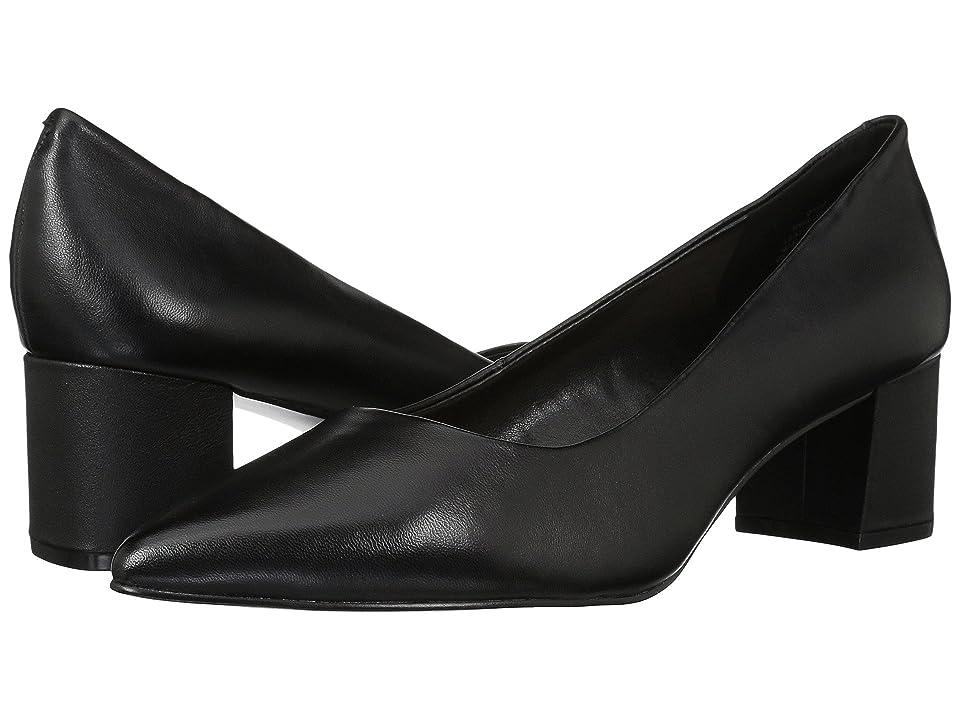 Nine West Aceline (Black Leather) Women