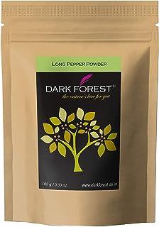 Dark Forest® Long Pepper|Lindi Pimpli| Pippali|Thippili|Pipal Badi Powder - 100g