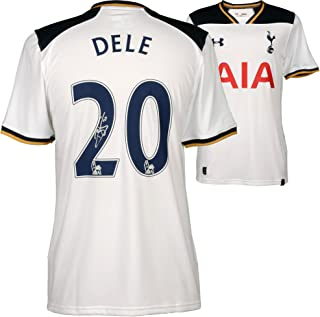 Dele Alli Tottenham Hotspur Autographed 2016-17 Home Jersey - Fanatics Authentic Certified - Autographed Soccer Jerseys