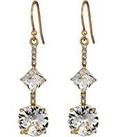 Kate Spade New York - Bright Ideas Linear Asymmetrical Drop Earrings