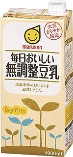 マルサン 毎日おいしい無調整豆乳 1000ml×6本