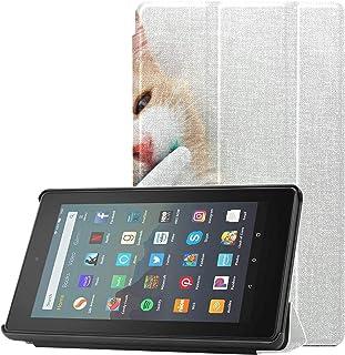 Pokrowiec na tablet Kindle Fire 7 etui proste i proste szczoteczki do zębów Fire 7 tablet 2019 etui do tabletów Fire 7 (9....