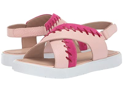 Elephantito Aline Crossed Sandal (Toddler/Little Kid/Big Kid) (Pink) Girls Shoes
