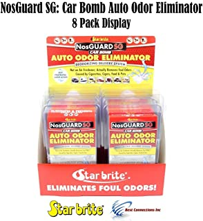 Auto Odor Eliminator Control System Car Bomb Star Brite 19908 * 8 Pack Display*