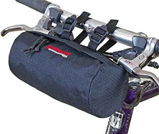 Bushwhacker Waco Black - Bicycle Handlebar & Seat Bag Cycling Pack Bike Cylinder Saddle Bag Frame Rear Front Accessories