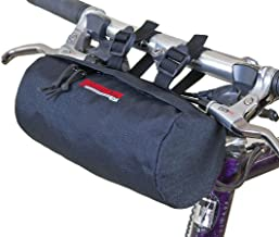 Bushwhacker Waco Black - Bicycle Handlebar & Seat Bag Cycling Pack Bike Cylinder Saddle Bag Frame Rear Front Accessories