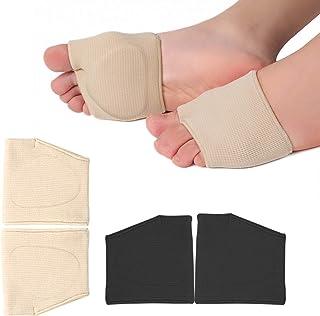 RooRuns Metatarsal Pads Ball of Foot Cushions Metatarsal Foot Pads for Pain Relief,Gel Pads Cushion for Metatarsalgia Mort...