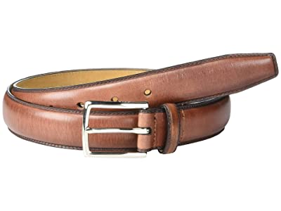 Cole Haan 32mm Full Dome Stitch Strap Harness Buckle (British Tan/Nubuck) Men