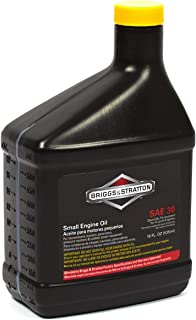 Briggs & Stratton 100005 SAE 30W Engine Oil – 18 Oz
