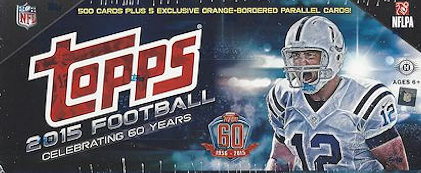 2015 Topps Football Factory Challenge the lowest price Sealed Complete 500 + Set price E w Cards
