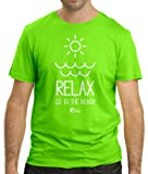 Cressi Herren Relax GO to The Beach T-Shirt, Grün, M