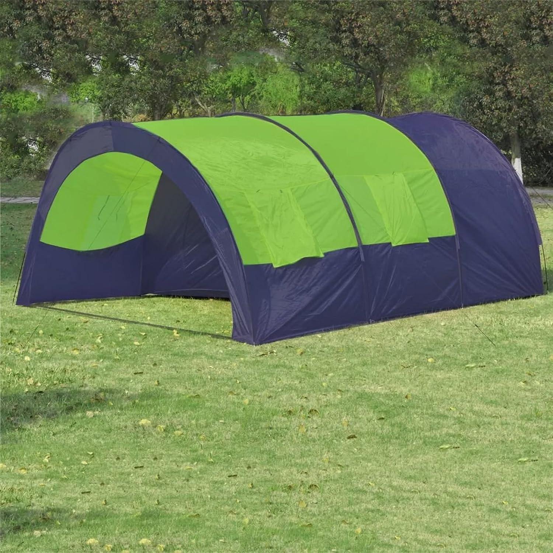 XuzhEU Polyester Zelt für 6 Personen Blau B07FF2PHYX  Schönes Aussehen