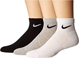 Everyday Cushion Ankle Socks 3-Pair Pack