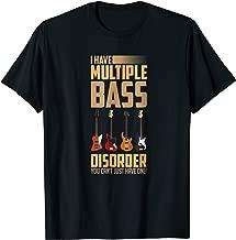 Multiple Bass Disorder Bass Guitar Shirt For Men