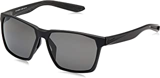 EV1097-001 Maverick P Frame Polarized Grey Lens Sunglasses, Matte Black/Silver