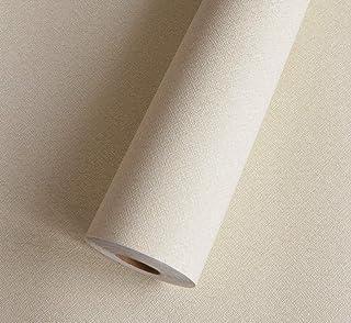 厚手 壁紙 Harmn home 壁紙シール 無地 リメイクシート 剥がせる かッティング シート幅45cmX5m 厚さ 0.32mmぐらい 薄いベージュ…