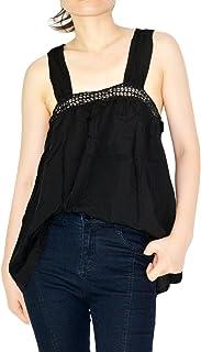 YSJERA Women's Sexy Tank Tops Sleeveless Summer Tees Shirts Casual Cami Blouse Top