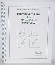 Preparing for the Ap Calculus Examination-Bc