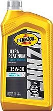 Pennzoil Ultra Platinum Full Synthetic 5W-30 Motor Oil (1 Quart, Single Pack)