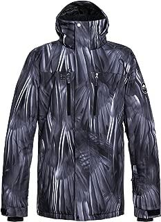 Quiksilver Men's Mission Printed 10K Snow Jacket