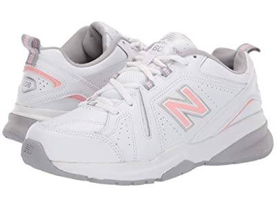 New Balance WX608v5 (White/Pink) Women